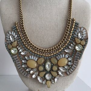 Stella & Dot Jewelry - Stella & Dot Giverny Embroidered Necklace